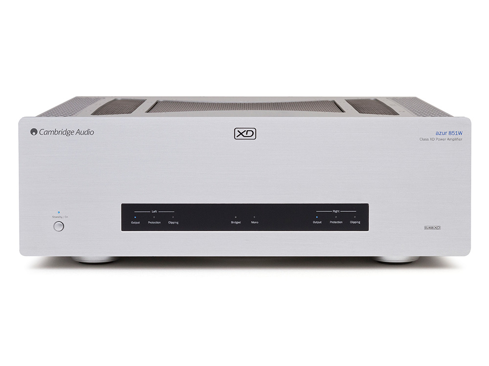 Cambridge Audio Azur 851W (851 W) Końcówka mocy stereo 200W Kolor: Czarny Polska Gwarancja