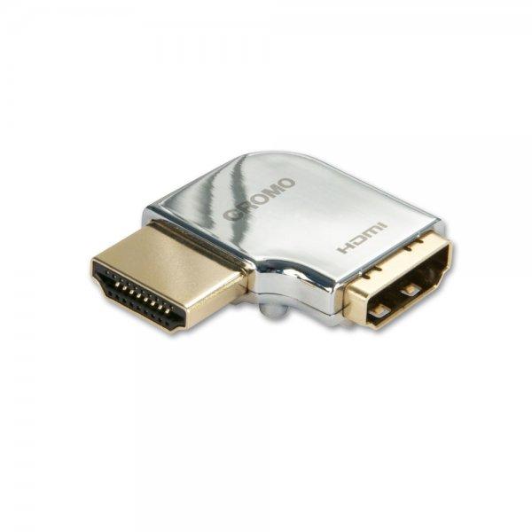 Lindy 41508 Przejściówka (łącznik) kątowy lewy gniazdo HDMI - wtyk HDMI Polska Gwarancja