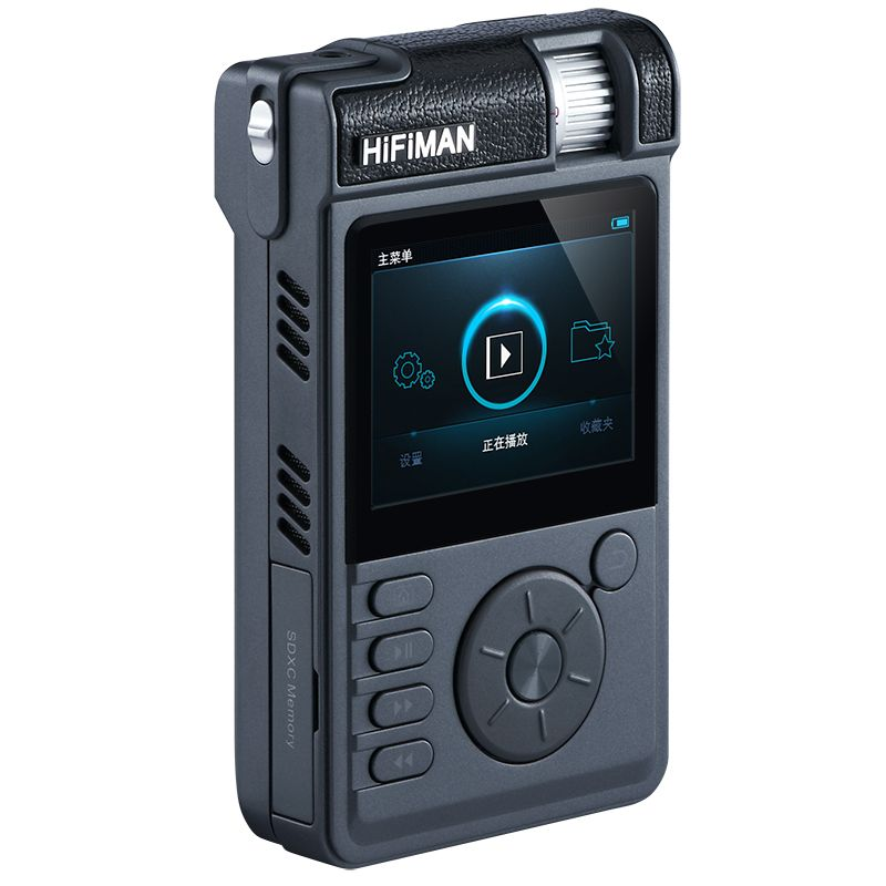 HiFiMAN HM-802 (HM802) Audiofilski odtwarzacz przenośny HI-END DSD/FLAC/WAV/OGG/MP3 Opcje: Standardowy moduł + karta pamięci 128GB Polska Gwarancja
