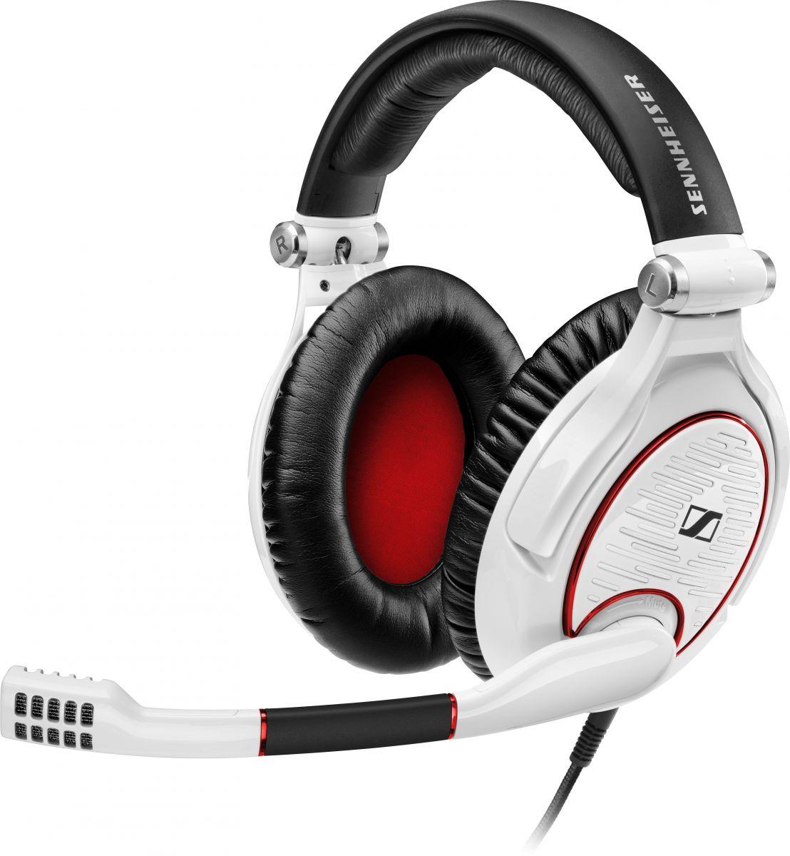 Sennheiser GAME ZERO (GAMEZERO) Słuchawki multimedialne nauszne z mikrofonem  Kolor: Biały Polska Gwarancja