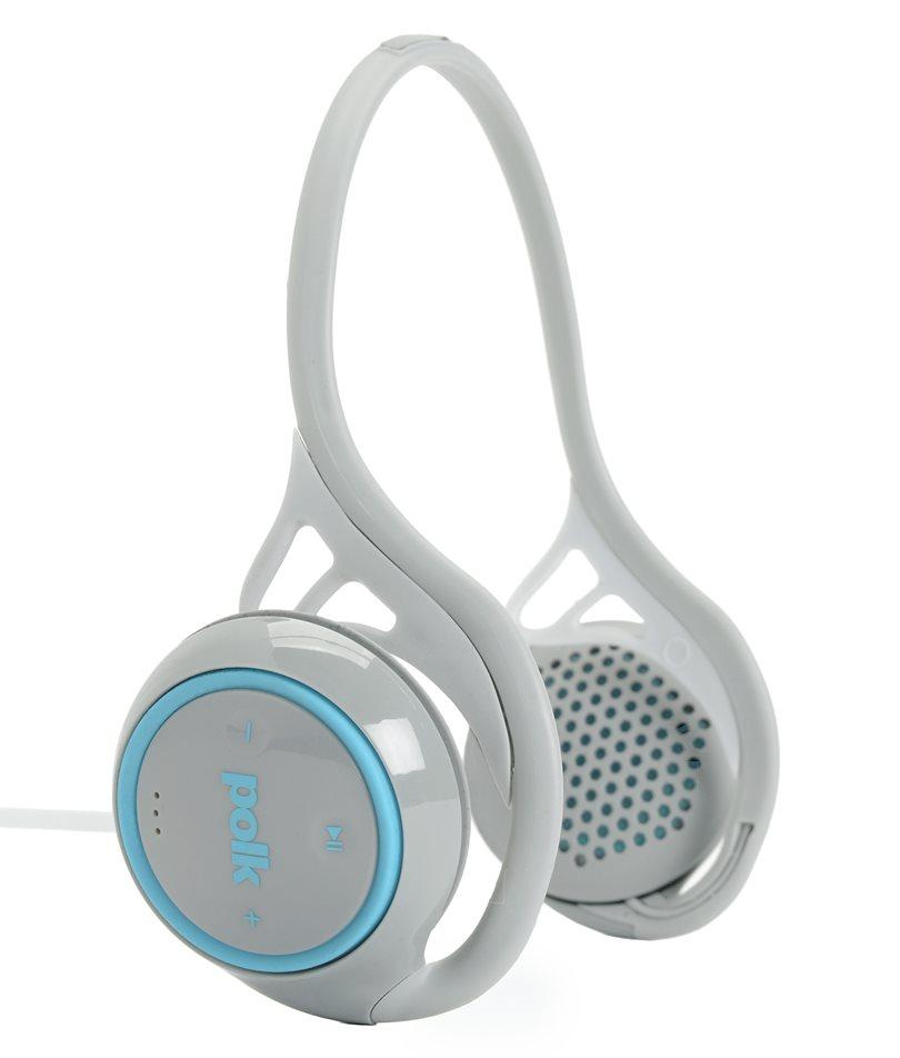 Polk Audio UltraFit 2000 - słuchawki nauszne uniwersalne ze sterowaniem Kolor: Szary/Niebieski Polska Gwarancja