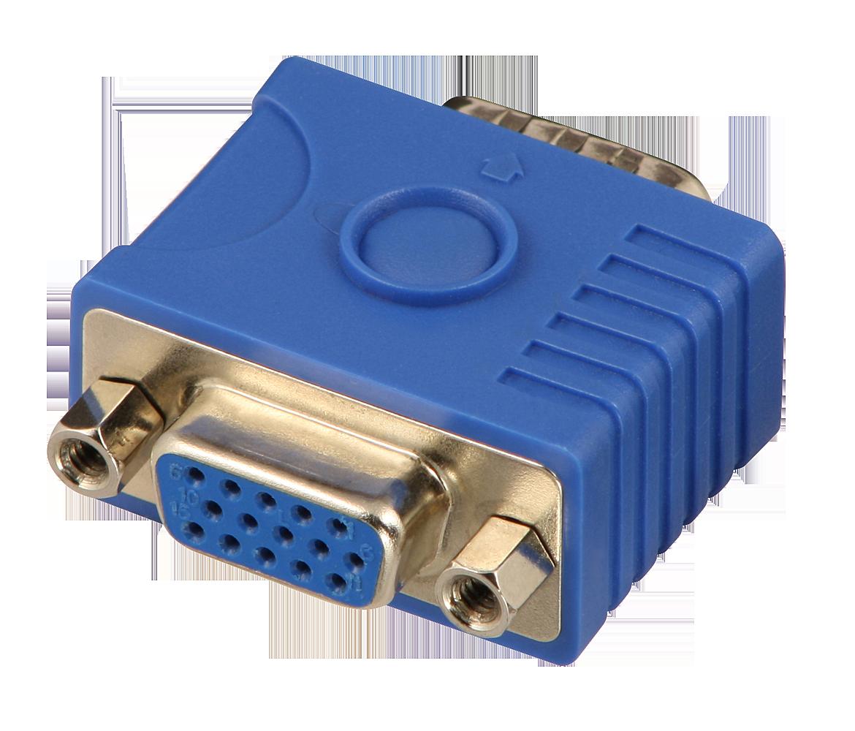 Przejściówka (adapter) VGA z EDID/DDC Lindy 32101 Polska Gwarancja