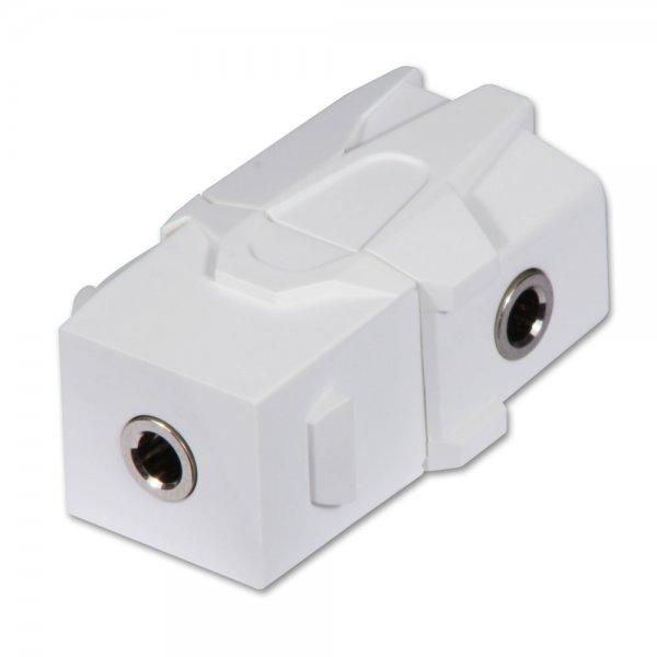Lindy 60493 gniazdo Keystone kątowy (łącznik modułowy) Złącze stereo mini jack 3.5mm  Polska Gwarancja