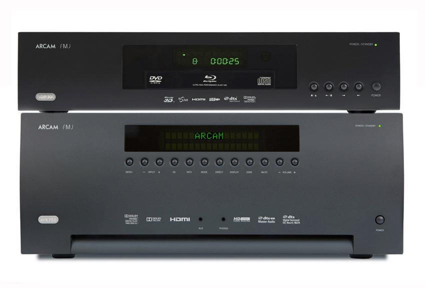 [Zestaw] Arcam FMJ BDP300 (BDP-300) odtwarzacz płyt 3D/Blu-ray/DVD/CD + Arcam AVR750 1.4 3D (AVR-750) Amplituner kina domowego z obsługą 3D 4K Ultra H
