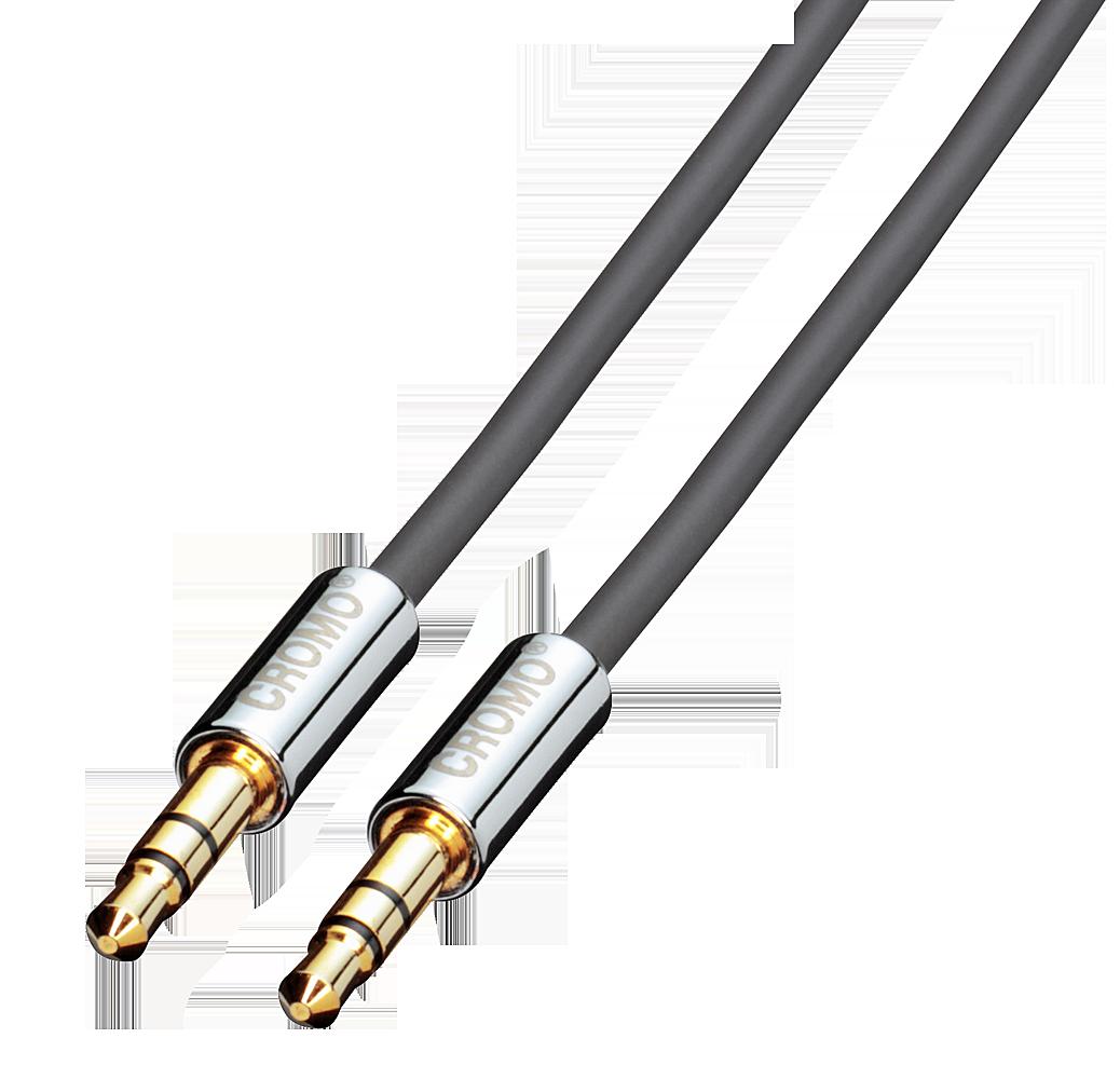 Lindy 35303 (CROMO) - Kabel jack 3,5mm stereo - jack 3,5mm stereo - 3m Polska Gwarancja