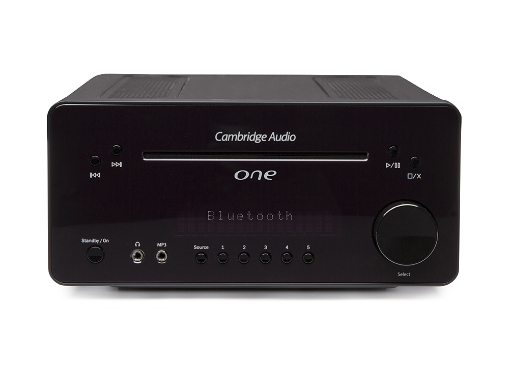 Cambridge Audio ONE System stereo all-in-one z radiem DAB/DAB+ Kolor: Czarny Polska Gwarancja