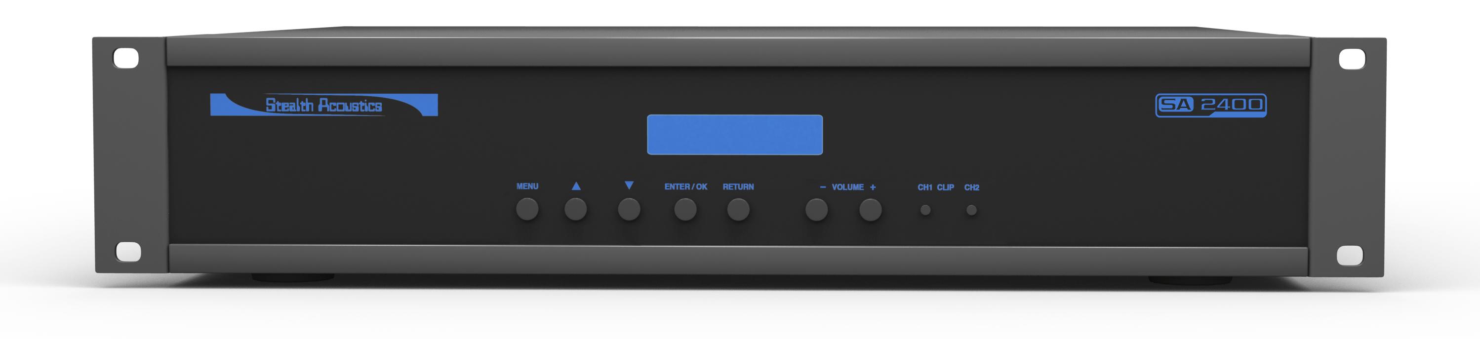 Stealth Acoustics SA2400 wysokiej klasy wzmacniacz 2 kanałowy z DSP Polska Gwarancja