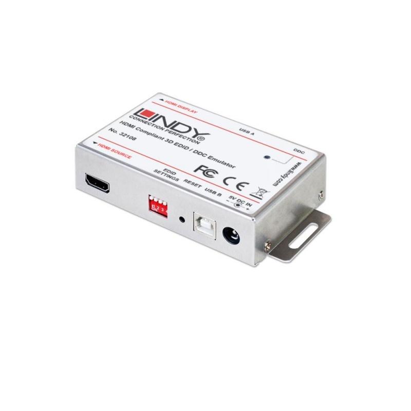 Lindy 32108 Emulator EDID/DDC dla HDMI Polska Gwarancja