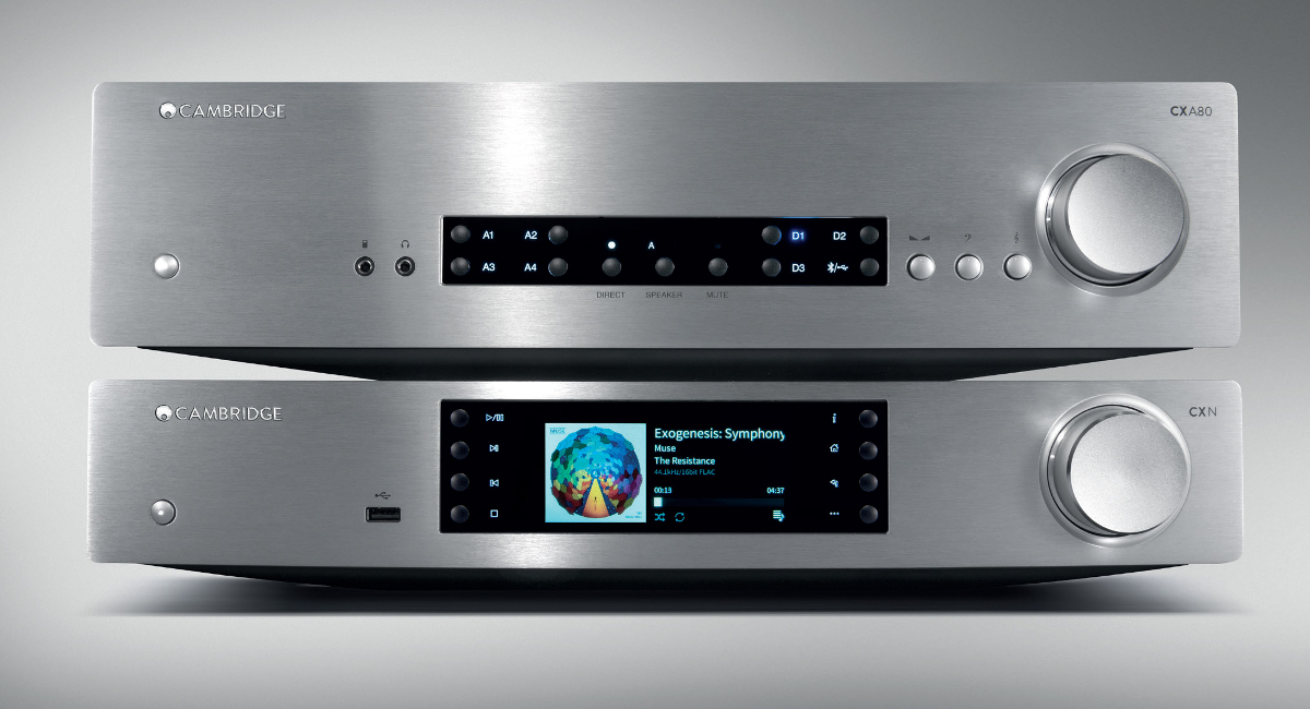 Cambridge Audio CXA80 (CXA-80) Integrated amplifier stereo 80W with DAC