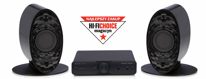 Musical Fidelity Merlin System Zestaw stereo (wieża) 2.0 Kolor: Czarny Polska Gwarancja