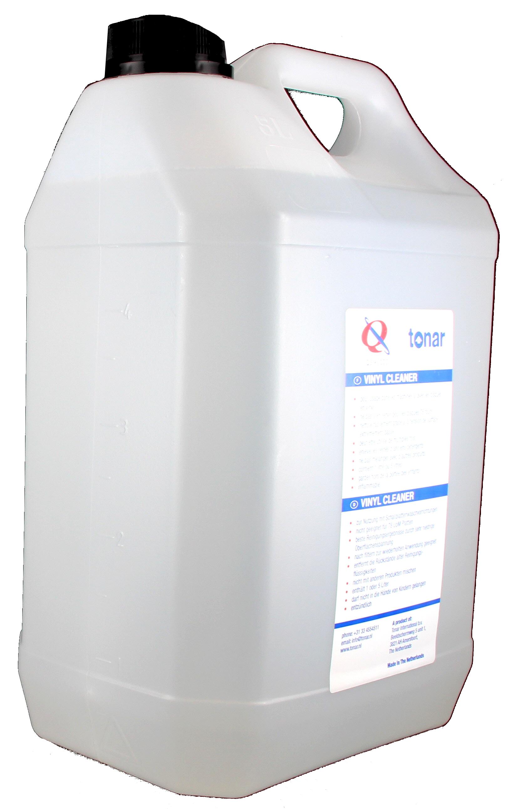 Tonar QS Vinyl Cleaner Płyn do czyszczenia płyt winylowych w pojemniku 5l Polska Gwarancja