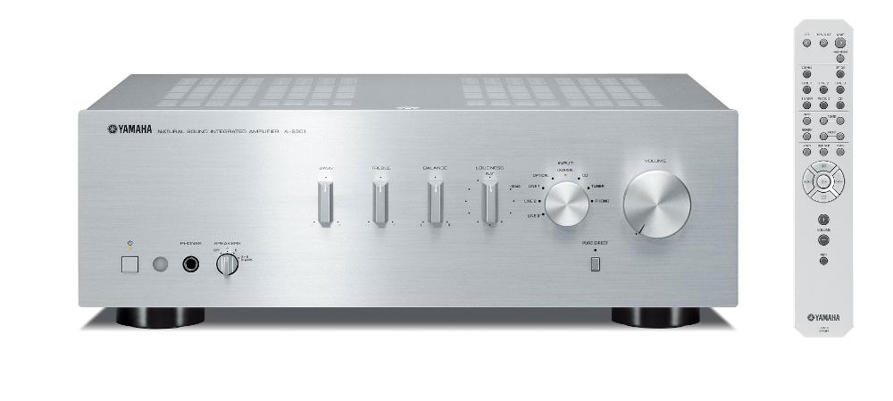 Yamaha A-S301 (AS301) Wzmacniacz zintegrowany stereo 60W Kolor: Ciemny Polska Gwarancja