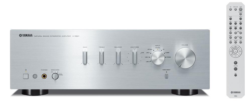 Yamaha A-S501 (AS501) Wzmacniacz zintegrowany stereo 85W Kolor: Ciemny Polska Gwarancja
