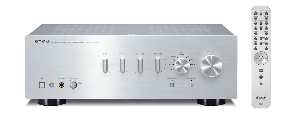 Yamaha A-S701 (AS701) Wzmacniacz zintegrowany stereo 100W Kolor: Ciemny Polska Gwarancja