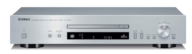 Yamaha CD-N301 (CDN301) Odtwarzacz CD z funkcjami sieciowymi Kolor: Ciemny Polska Gwarancja