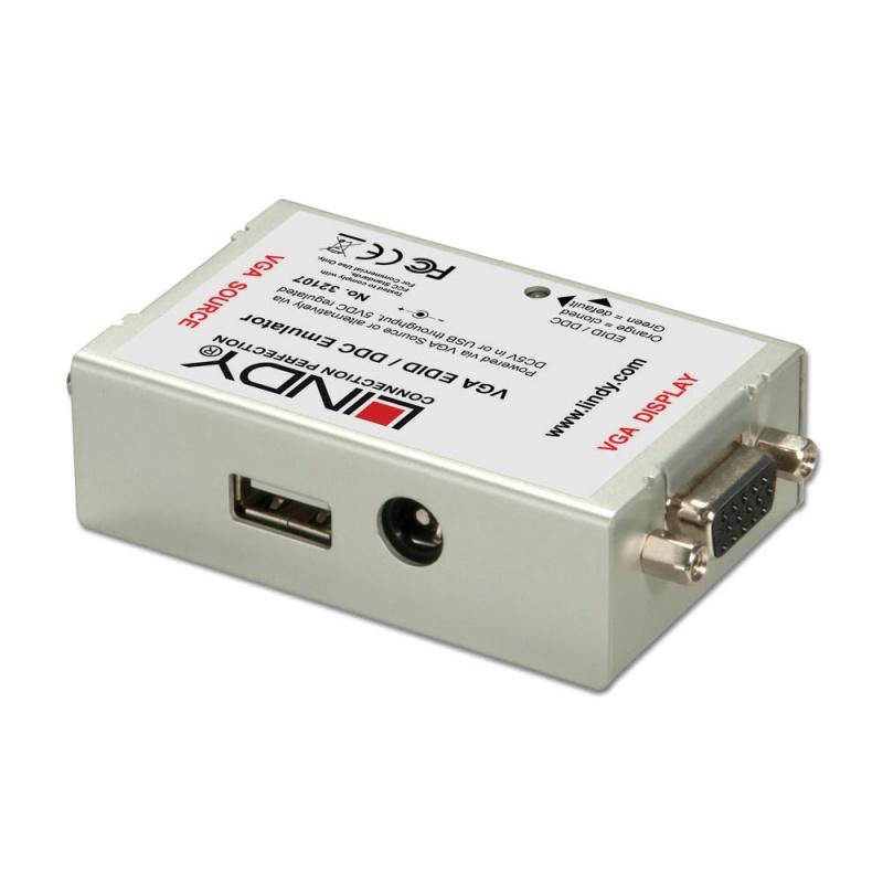 Lindy 32107 Emulator EDID/DDC dla VGA Polska Gwarancja