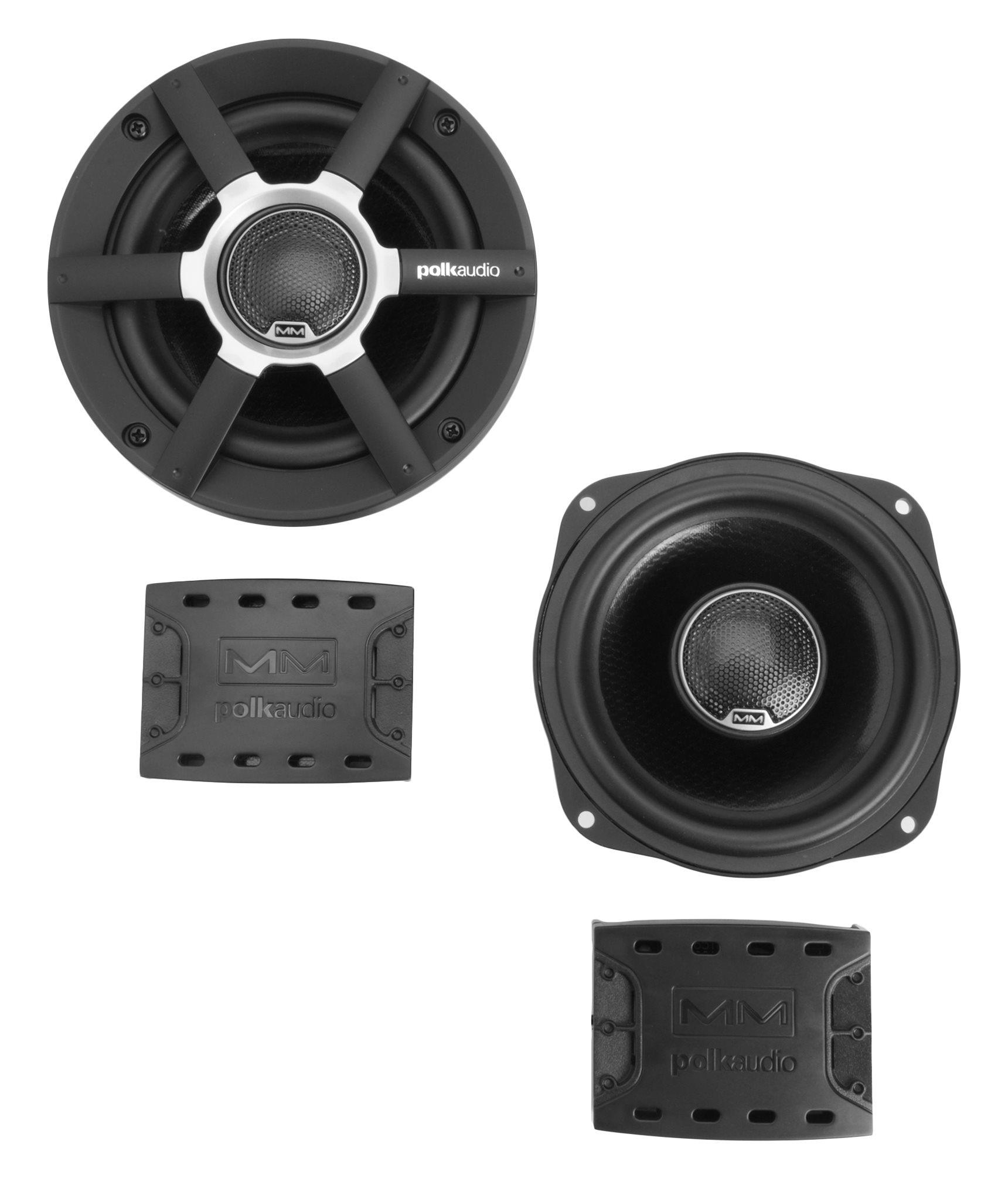Polk Audio Mobile Monitor MM521 (MM 521) Dwudrożne głośniki samochodowe 5.25 cala - 2szt. Polska Gwarancja