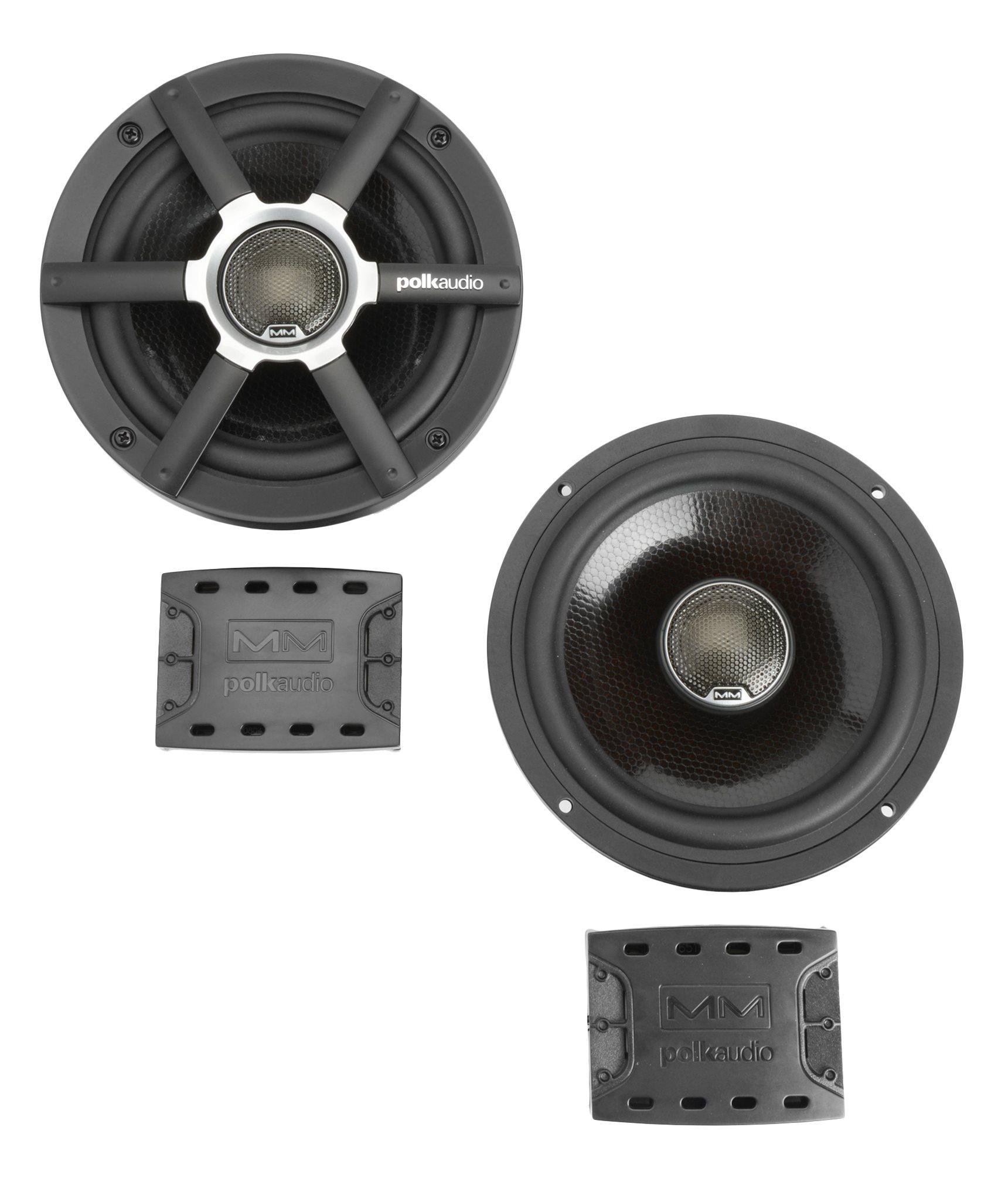 Polk Audio Mobile Monitor MM651 (MM 651) Dwudrożne głośniki samochodowe 6.5 cala - 2szt. Polska Gwarancja