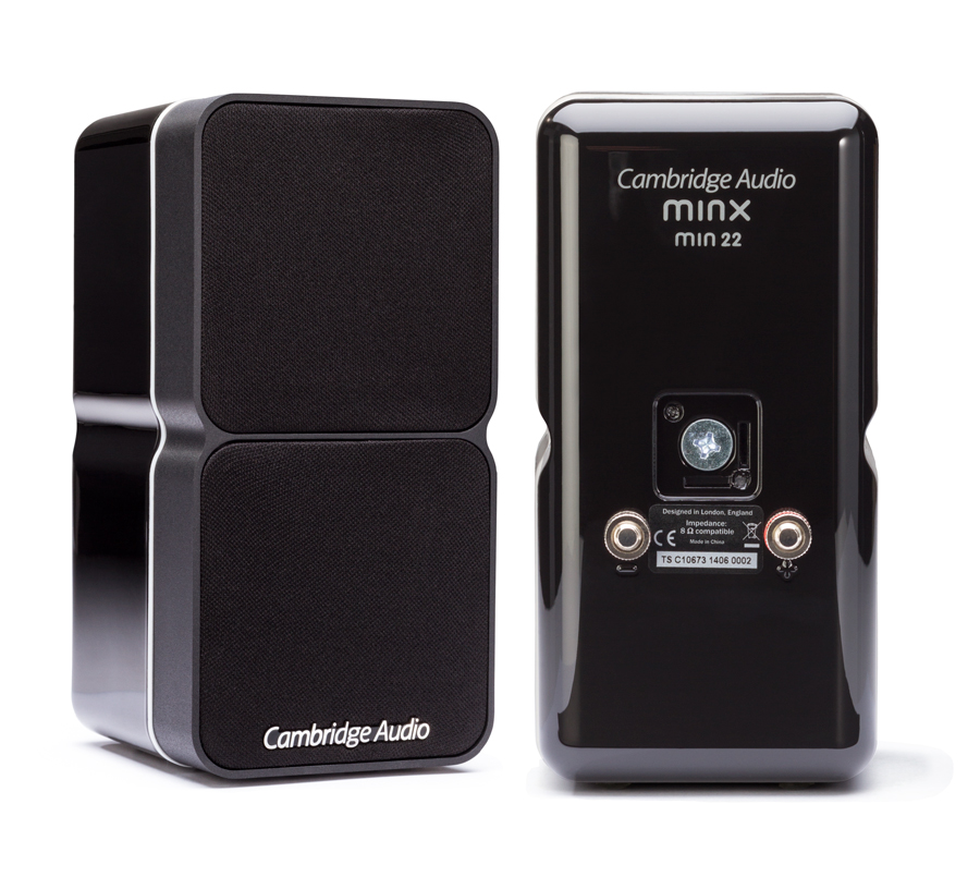 Cambridge Audio Minx Min22 Min 22 Bookshelf Speakers