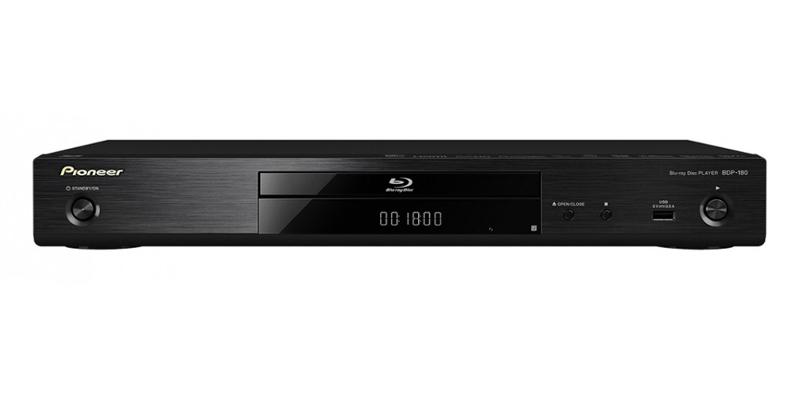 Pioneer BDP180 (BDP-180) Odtwarzacz Blu-ray 3D/DVD z funkcjami sieciowymi Polska Gwarancja