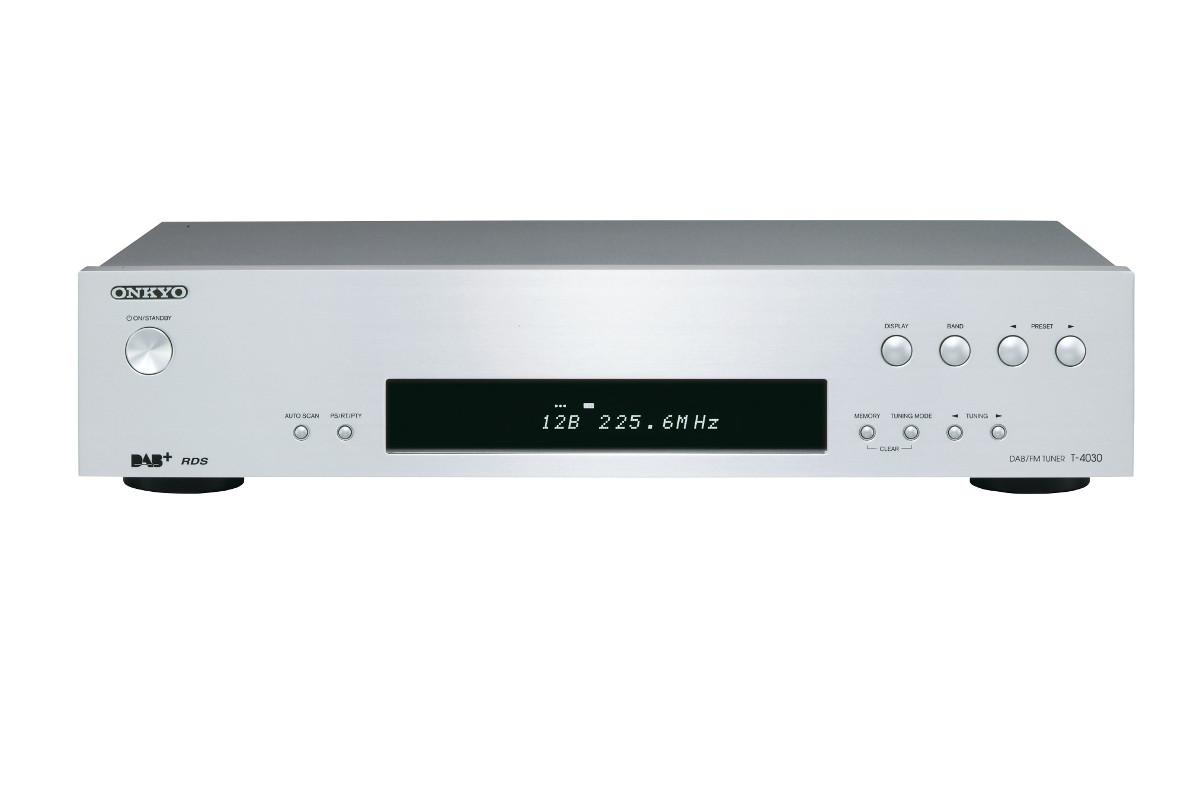 Onkyo T-4030 (T4030) Tuner radiowy stereo DAB+ Kolor: Jasny Polska Gwarancja