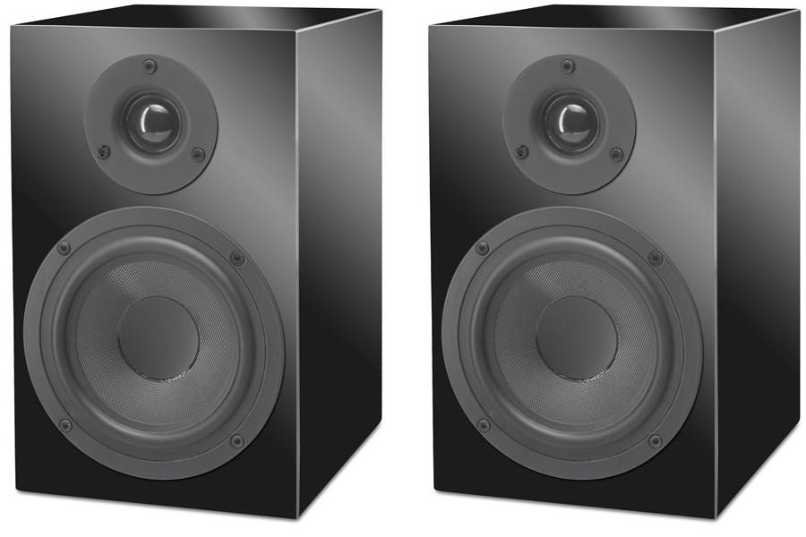 Pro-Ject Speaker Box 5 (Box5) Kolumny podstawkowe - 2 szt. Kolor: Czerwony wysoki połysk Polska Gwarancja