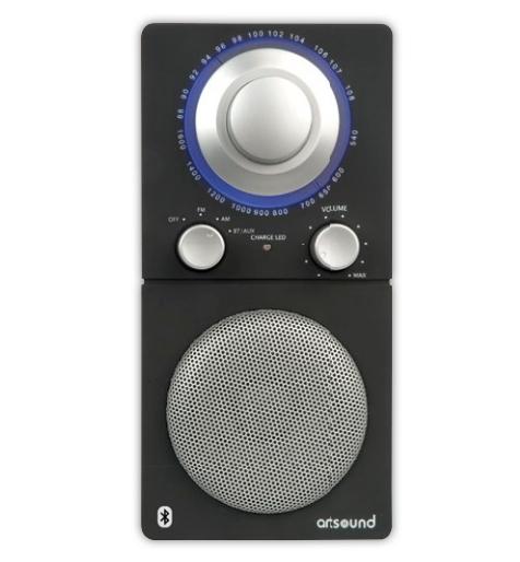 ArtSound R5BT (R-5BT) Przenośne radio z Bluetooth Kolor: Srebrny Polska Gwarancja