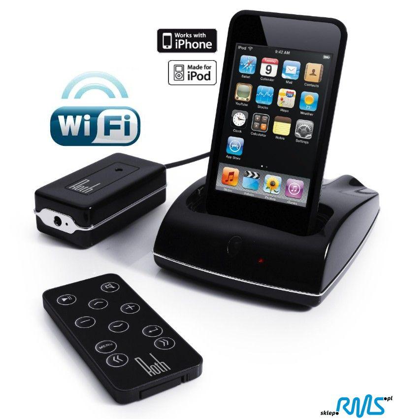 Roth Audio RothDock bezprzewodowy transmiter audio z stacja dokująca do iPod-a, iPhone-a Polska Gwarancja