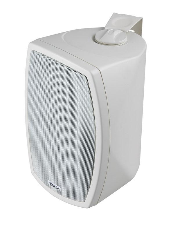 Głośniki zewnętrzne odporne na promienie UV, wodoodporne Taga TOS-515W/TOS-515B - 2szt