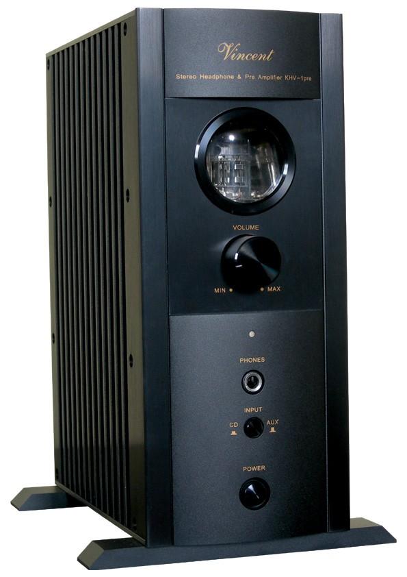 Vincent KHV-1 Wzmacniacz słuchawkowy lampowy  Kolor: Ciemny Polska Gwarancja