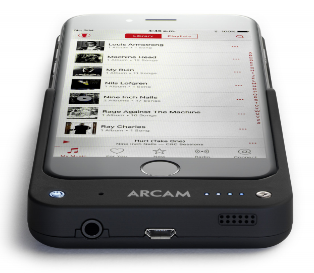 Arcam MusicBOOST Przetwornik cyfrowo-analogowy DAC i wzmacniacz słuchawkowy do iPhone 6 Polska Gwarancja