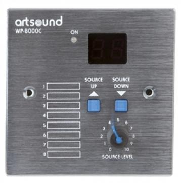 ArtSound WP-8000C (WP8000C) Pilot (sterownik, panel sterujący) do matrycy MAT-8000 (MAT8000) Polska Gwarancja