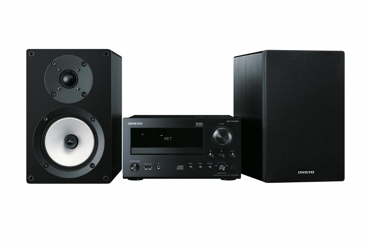 Onkyo CS-N765 (CSN765) Zestaw stereo (miniwieża) z napędem CD, USB i obsługą plików DSD hi-res Polska Gwarancja
