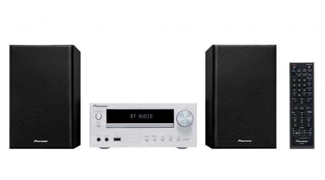 Pioneer X-HM15 (XHM15) Zestaw stereo (miniwieża) z tunerem FM RDS, napędem CD i USB Kolor: Czarny Polska Gwarancja