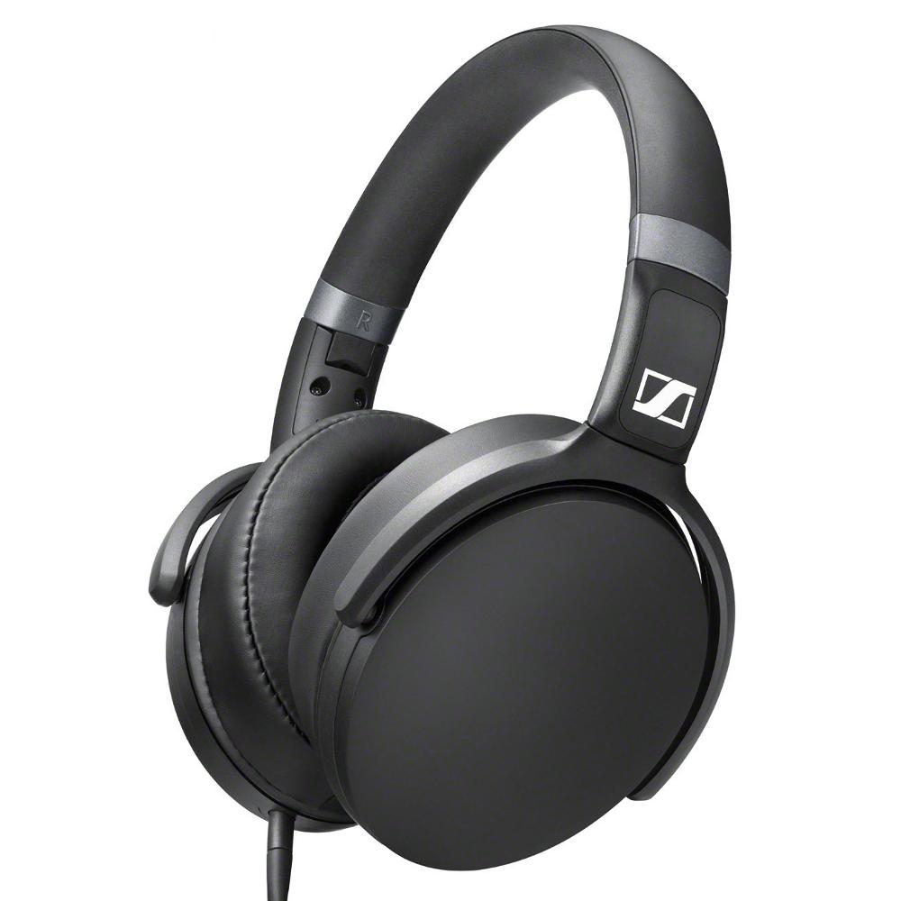 Sennheiser HD 4.30 G (HD430G) Słuchawki nauszne z mikrofonem i sterowaniem do telefonów Android Kolor: Czarny Polska Gwarancja