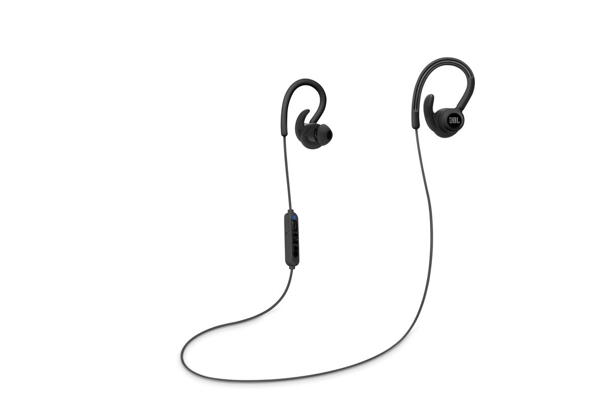 JBL Reflect Contour Słuchawki sportowe dokanałowe Bluetooth Kolor: Zielony Polska Gwarancja