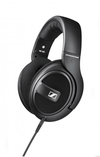 Sennheiser HD 569 (HD569) Słuchawki nauszne z mikrofonem i sterowaniem do iOS i Android Polska Gwarancja