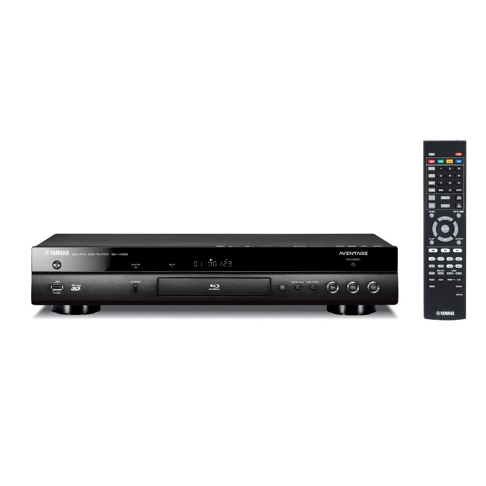 Yamaha BD-A1060 (BDA1060) Odtwarzacz Blu-ray 3D / DVD/ SACD ze skalowaniem do 4K Kolor: Ciemny Polska Gwarancja