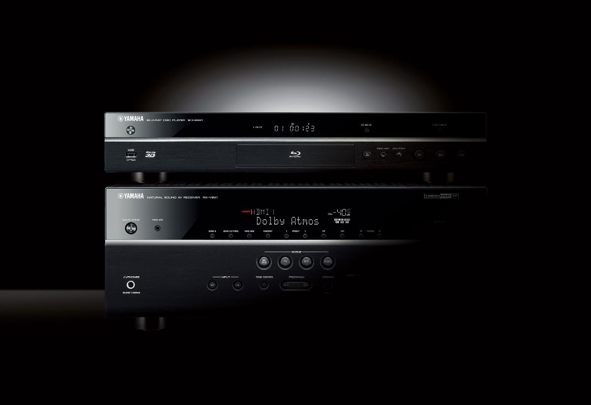 Yamaha Bd S681 Bds681 Odtwarzacz Blu Ray 3d Z Wi Fi Miracast I Lindy 37874 Cromo Hdmi 20 Cable Type A 5m Skalowaniem Do 4k