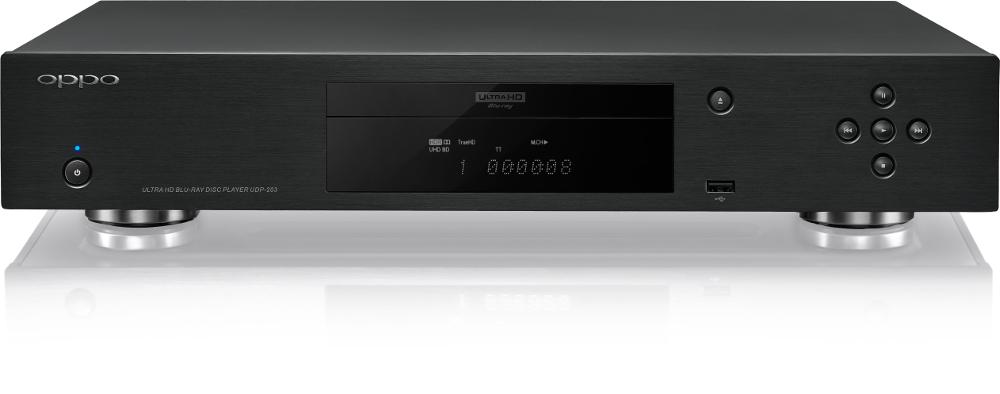 Oppo UDP-203 (UDP203) Odtwarzacz Blu-ray 4K Ultra HD Blokada regionalna: TAK Polska Gwarancja