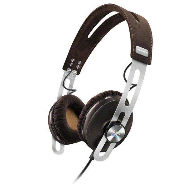 Sennheiser MOMENTUM On-Ear M2 OEi Słuchawki nauszne z mikrofonem i sterowaniem do iPhone i urządzeń Apple Kolor: Brązowy Polska Gwarancja