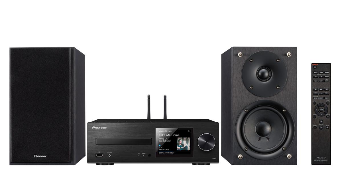 Pioneer X-HM76-K (X-HM76K) Zestaw stereo (mikrowieża) z Bluetooth i AirPlay Polska Gwarancja