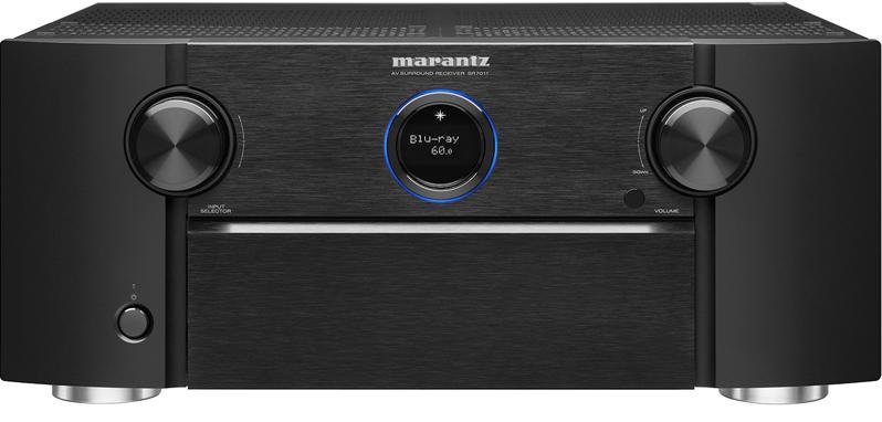 Marantz SR7011 (SR-7011) Amplituner kina domowego 9.2 z WiFi, Bluetooth, radiem internetowym, DTS:X, Dolby Atmos Kolor: Czarny Polska Gwarancja