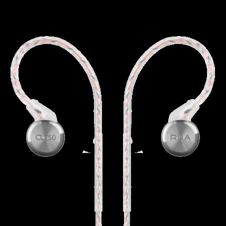 RHA CL750  (CL-750) szerokopasmowe słuchawki dokanałowe Polska Gwarancja