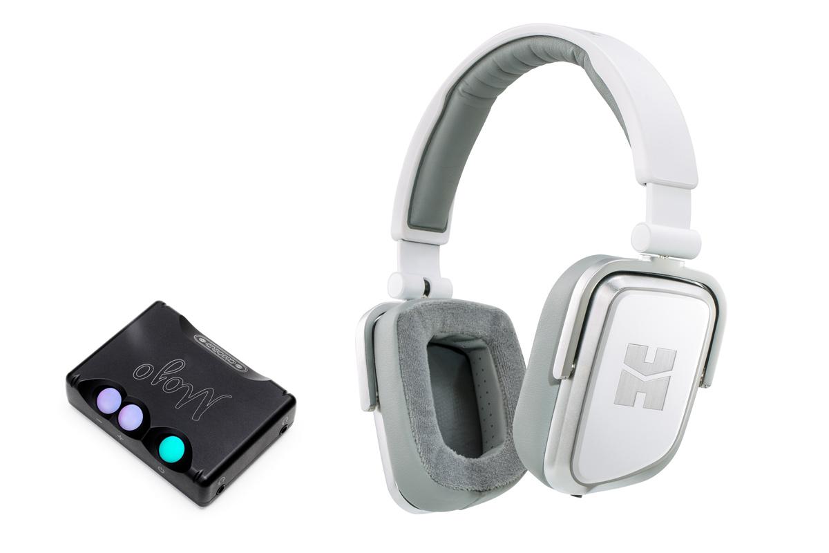 Zestaw promocyjny: HiFiMAN Edition S White słuchawki przenośne + Chord Electronics Mojo Przenośny przetwornik C/A DAC i wzmacniacz słuchawkowy