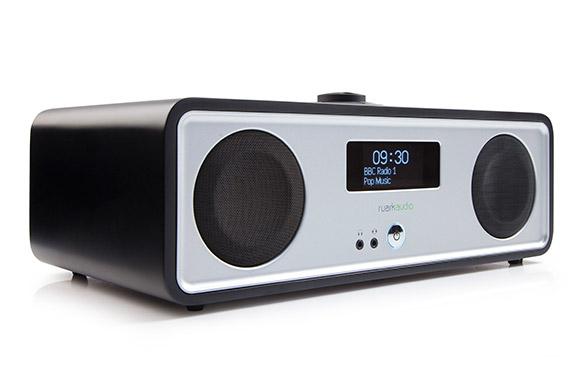 Ruark Audio R2 (R-2) Mk3 Odtwarzacz stereo all-in-one z WiFi, Bluetooth, Sportify, Multiroom Kolor: Czarny Polska Gwarancja