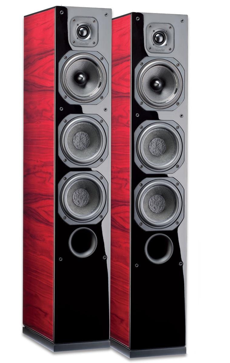 Indiana Line Diva 655 (Diva655) Kolumny podłogowe stereo z drewnianym wykończeniem - 1szt. EX DEMO Polska Gwarancja