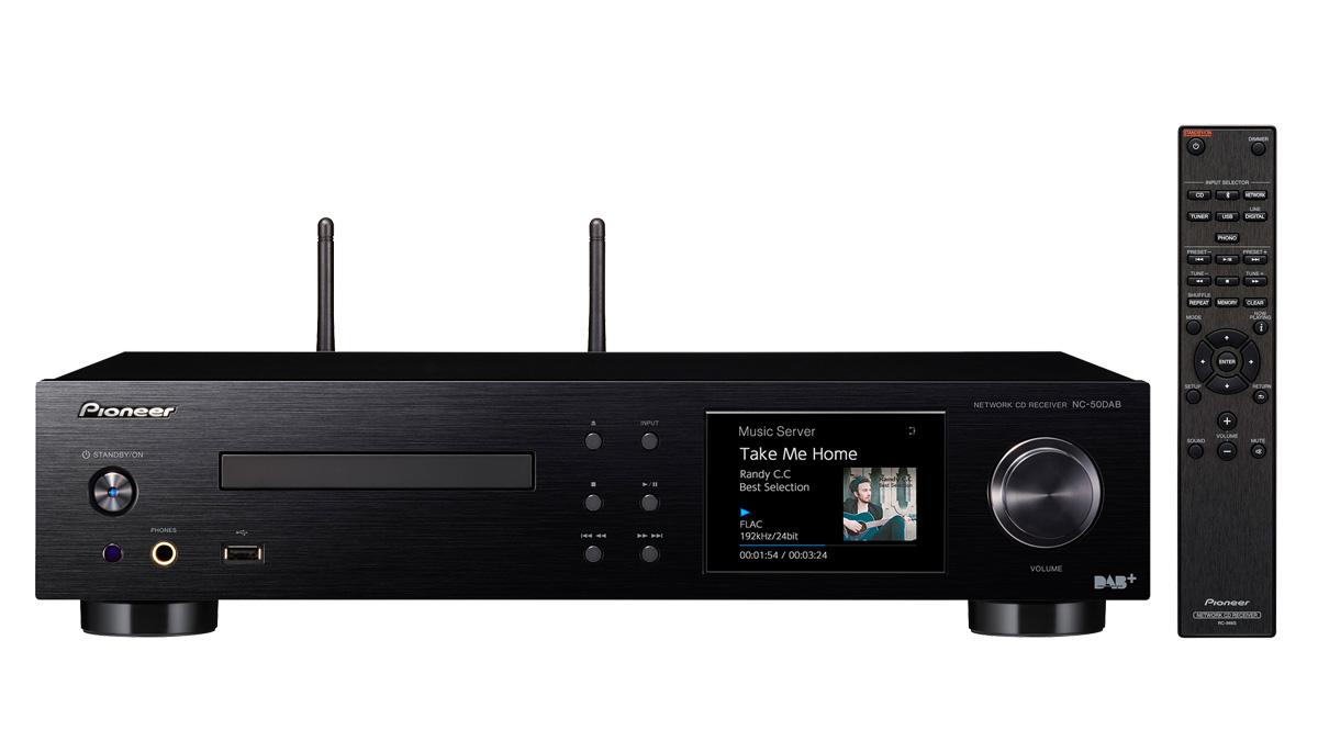 Pioneer NC-50DAB (NC50 DAB) Sieciowy amplituner stereo z odtwarzaczem CD Polska Gwarancja