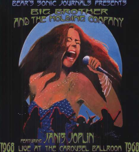 Big Brother & The Holding Company Feat. Janis Joplin - Live At The Carousel Ballroom 1968 Płyta winylowa (2LP, 180g) Polska Gwarancja