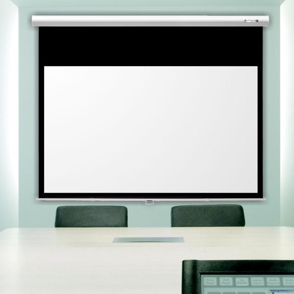 Suprema Feniks Elegant Ekran projekcyjny (1:1) rozwijany ręcznie z hamulcem zwijania Rozmiar: 171 x 171cm Polska Gwarancja